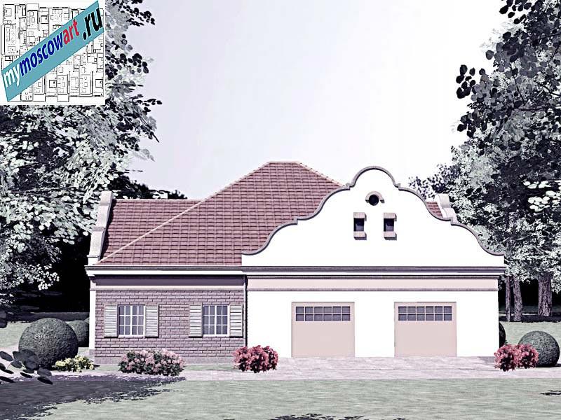 Проект дома - Буске (Город Вршац - Сербия) (1)