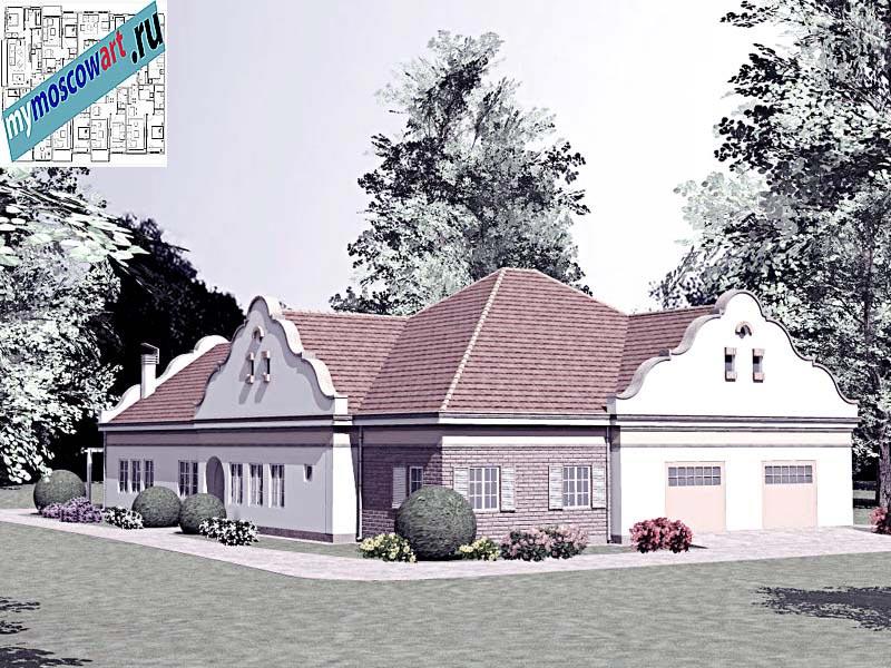 Проект дома - Буске (Город Вршац - Сербия) (2)