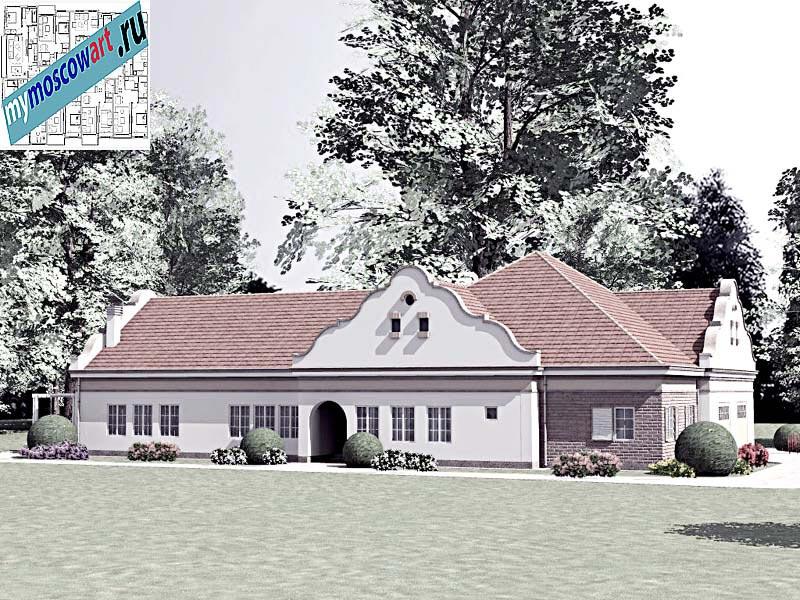 Проект дома - Буске (Город Вршац - Сербия) (3)