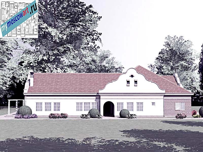 Проект дома - Буске (Город Вршац - Сербия) (4)