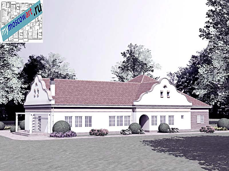 Проект дома - Буске (Город Вршац - Сербия) (5)