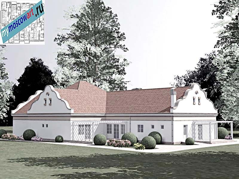 Проект дома - Буске (Город Вршац - Сербия) (7)