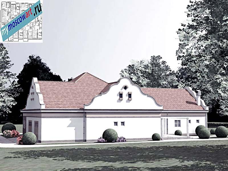 Проект дома - Буске (Город Вршац - Сербия) (9)