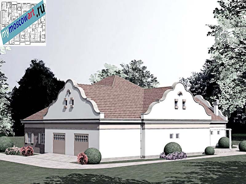 Проект дома - Буске (Город Вршац - Сербия) (10)