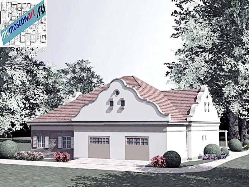 Проект дома - Буске (Город Вршац - Сербия) (11)