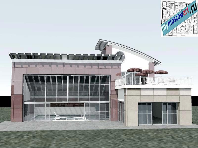 Проект бассейна - Йованович (Город Ягодина - Сербия) (2)