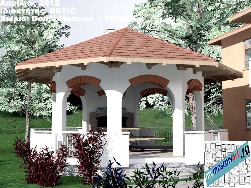 Проект дома - Бетич (Деревня Доня Мутница - Сербия) (3)