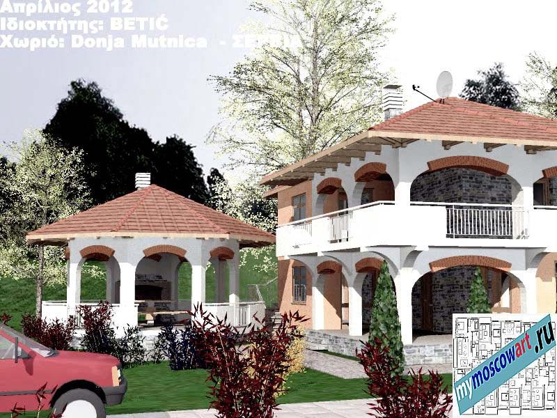 Проект дома - Бетич (Деревня Доня Мутница - Сербия) (5)