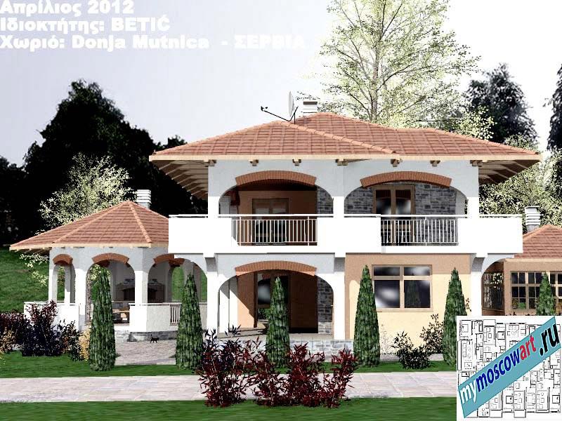 Проект дома - Бетич (Деревня Доня Мутница - Сербия) (7)
