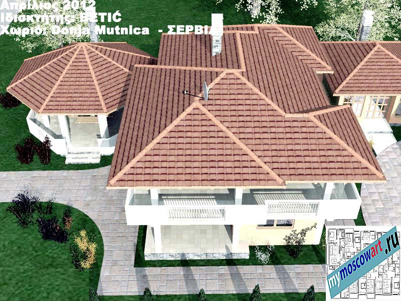 Проект дома - Бетич (Деревня Доня Мутница - Сербия) (9)