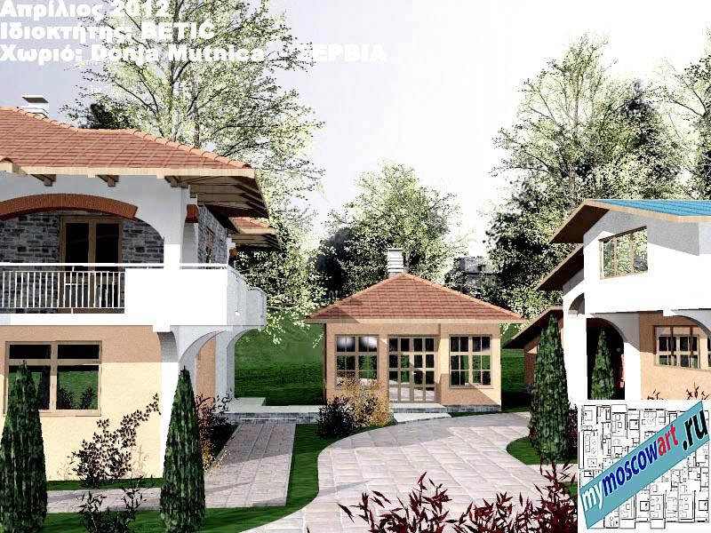 Проект дома - Бетич (Деревня Доня Мутница - Сербия) (12)