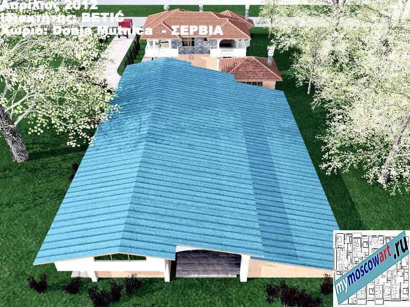 Проект дома - Бетич (Деревня Доня Мутница - Сербия) (19)