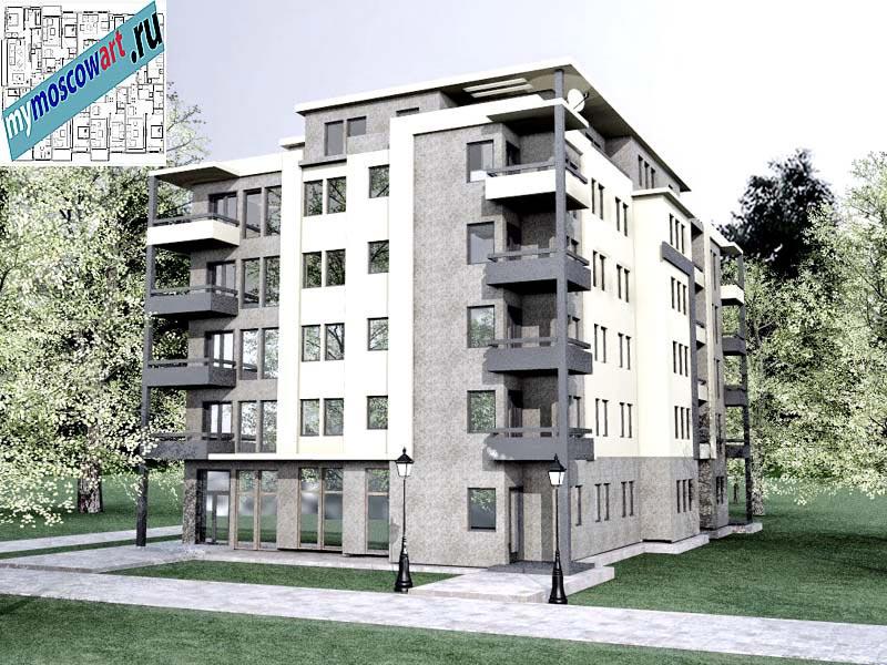 Проект здания - Бобан (Город Крушевац - Сербия) (1)
