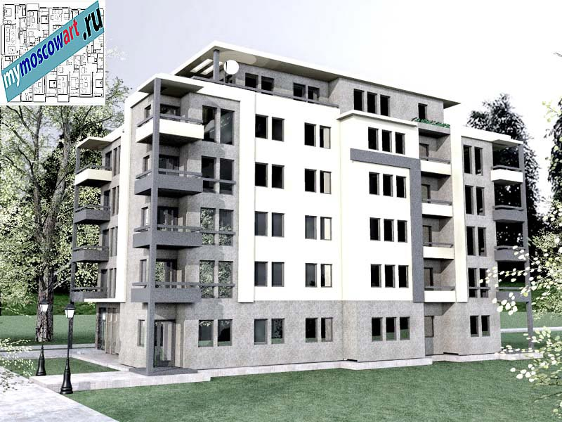 Проект здания - Бобан (Город Крушевац - Сербия) (2)