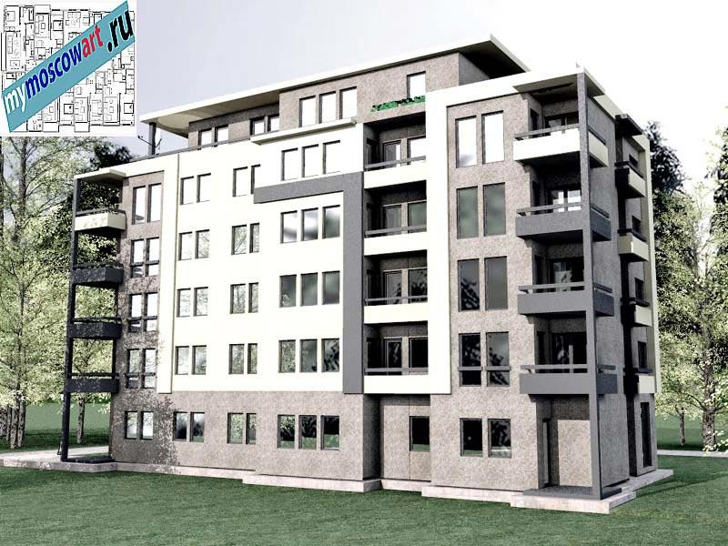 Проект здания - Бобан (Город Крушевац - Сербия) (4)