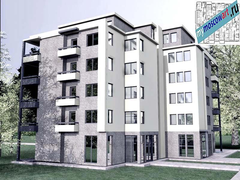 Проект здания - Бобан (Город Крушевац - Сербия) (5)