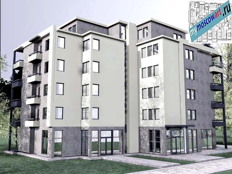 Проект здания - Бобан (Город Крушевац - Сербия) (6)