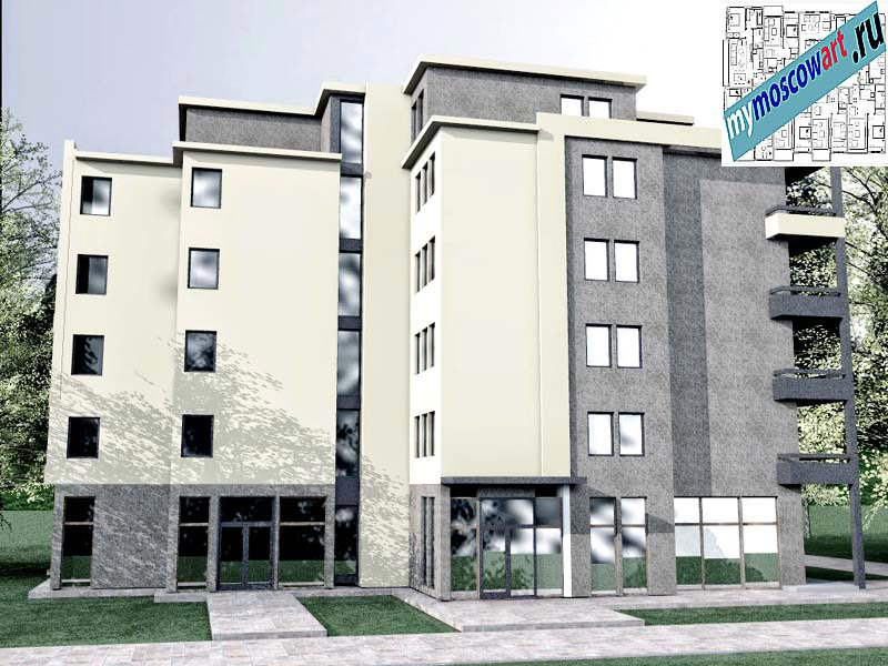 Проект здания - Бобан (Город Крушевац - Сербия) (7)