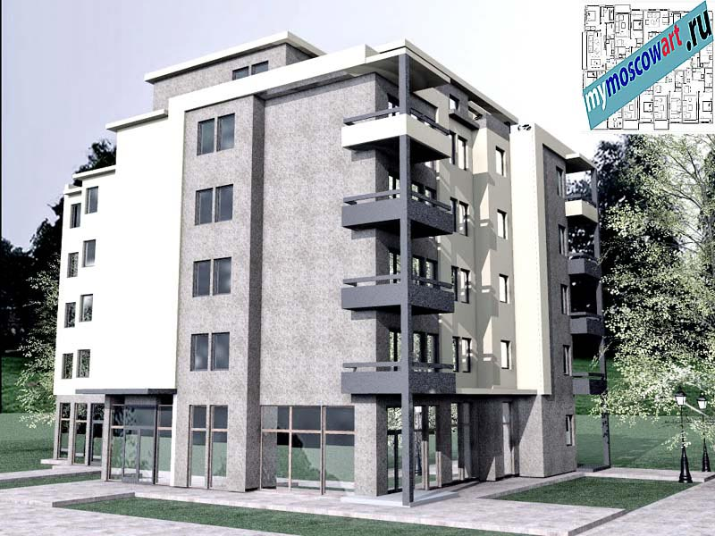 Проект здания - Бобан (Город Крушевац - Сербия) (8)