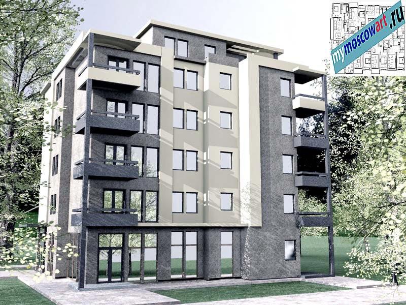 Проект здания - Бобан (Город Крушевац - Сербия) (9)