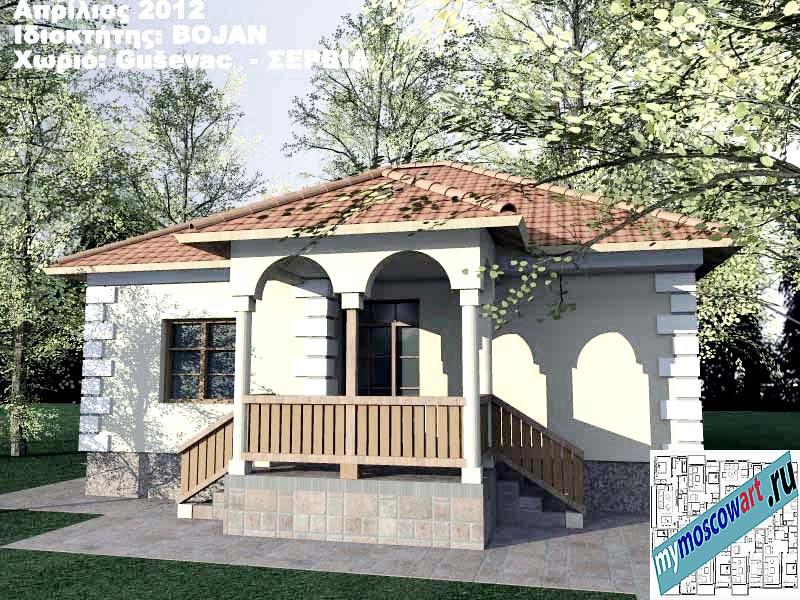 Проект дома - Боян (Деревня Гушевац - Сербия) (2)