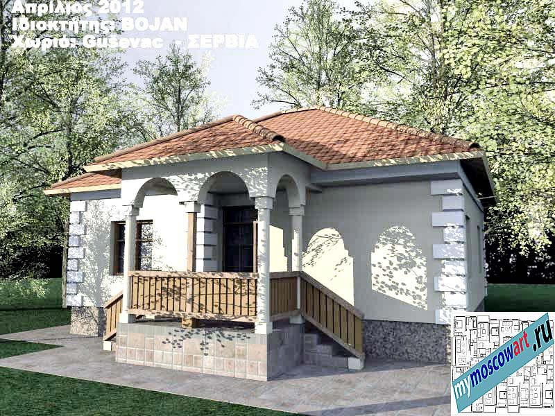 Проект дома - Боян (Деревня Гушевац - Сербия) (3)