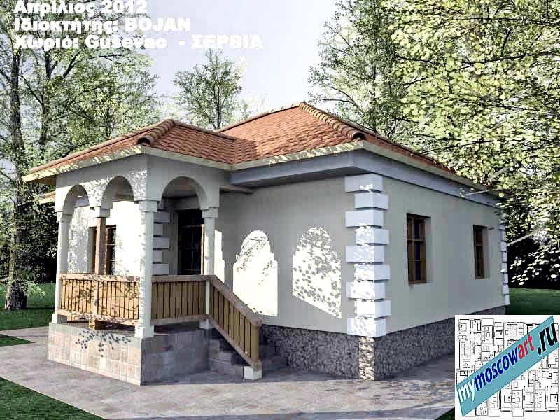 Проект дома - Боян (Деревня Гушевац - Сербия) (4)