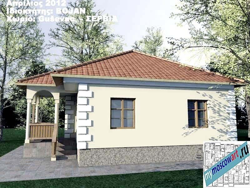 Проект дома - Боян (Деревня Гушевац - Сербия) (5)