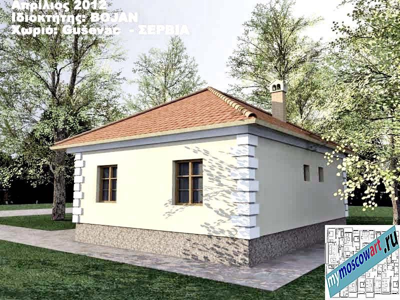 Проект дома - Боян (Деревня Гушевац - Сербия) (6)