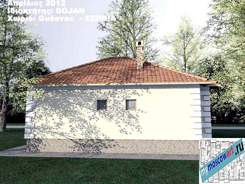 Проект дома - Боян (Деревня Гушевац - Сербия) (7)