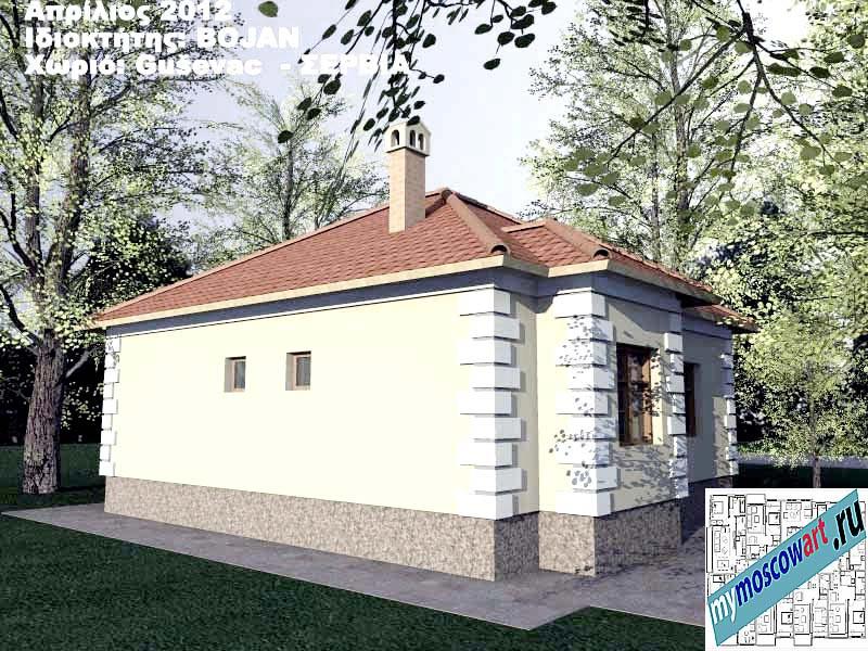 Проект дома - Боян (Деревня Гушевац - Сербия) (8)