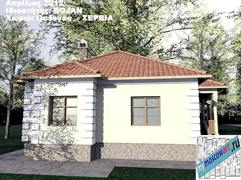Проект дома - Боян (Деревня Гушевац - Сербия) (9)