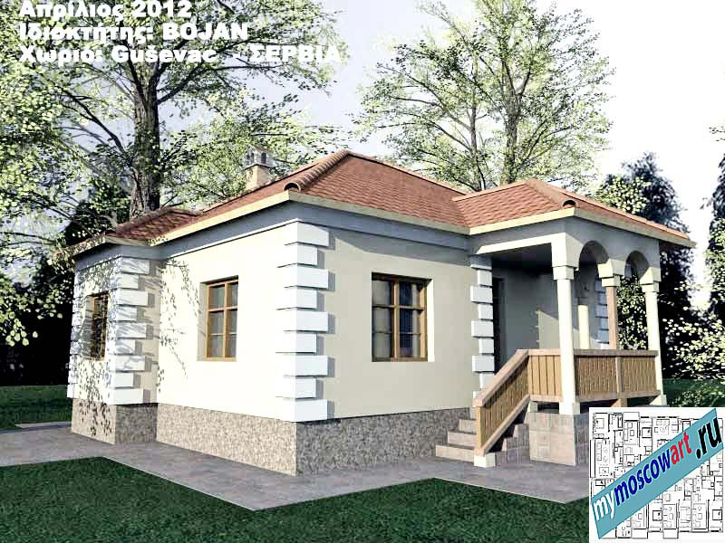 Проект дома - Боян (Деревня Гушевац - Сербия) (10)