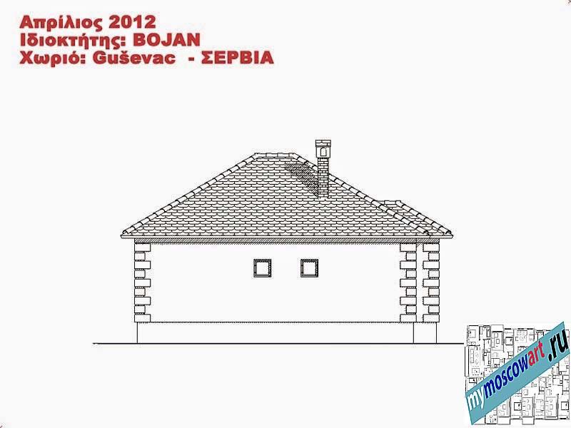 Проект дома - Боян (Деревня Гушевац - Сербия) (12)