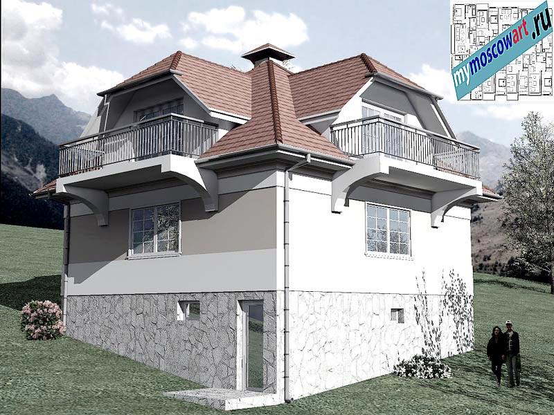 Проект дома - Буда (Парк Фрушка-Гора - Сербия) (6)
