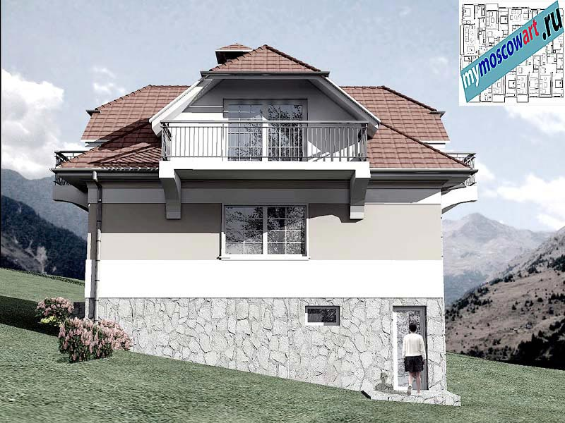Проект дома - Буда (Парк Фрушка-Гора - Сербия) (7)