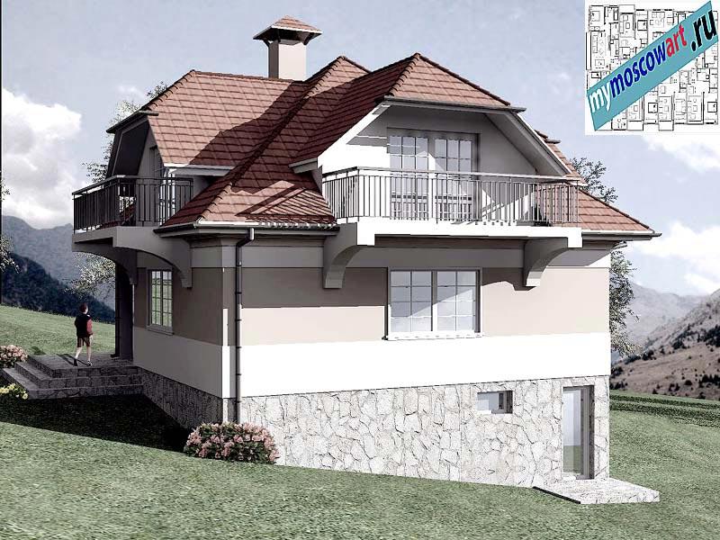 Проект дома - Буда (Парк Фрушка-Гора - Сербия) (8)