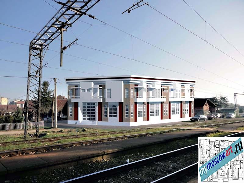 Проект мотеля - Дарко (Город Чичевац - Сербия) (2)