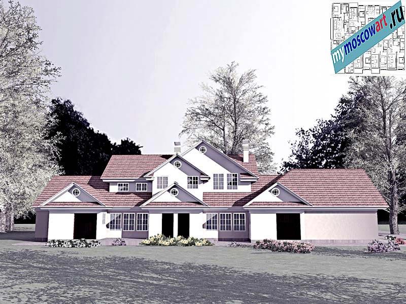 Проект дома - Цуцичка (Город Вршац - Сербия) (4)