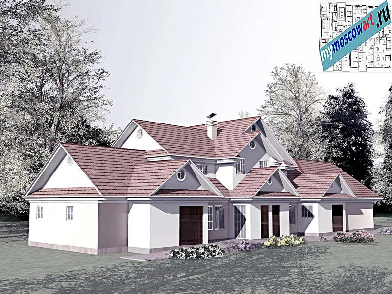 Проект дома - Цуцичка (Город Вршац - Сербия) (6)