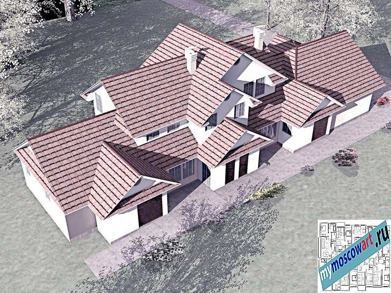 Проект дома - Цуцичка (Город Вршац - Сербия) (7)