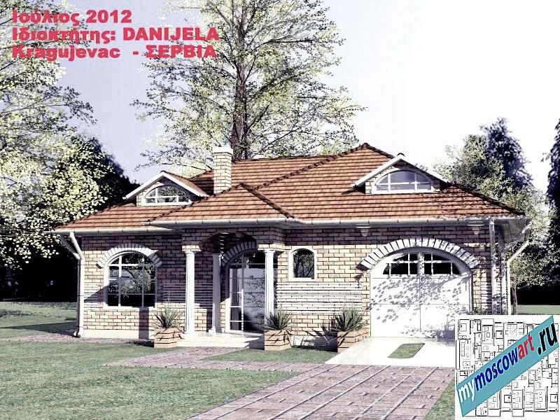 Проект дома - Даниела (Деревня Поповац - Сербия) (2)