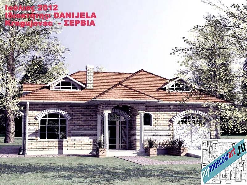 Проект дома - Даниела (Деревня Поповац - Сербия) (3)
