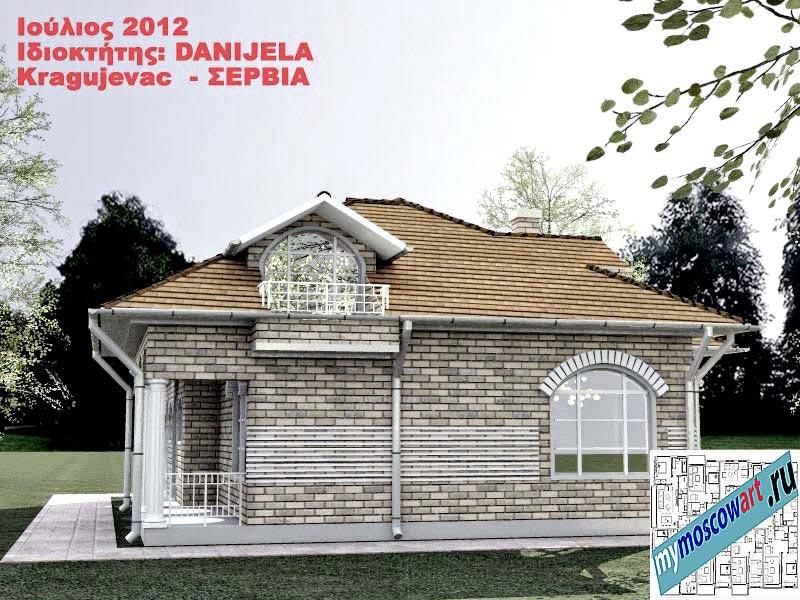Проект дома - Даниела (Деревня Поповац - Сербия) (6)