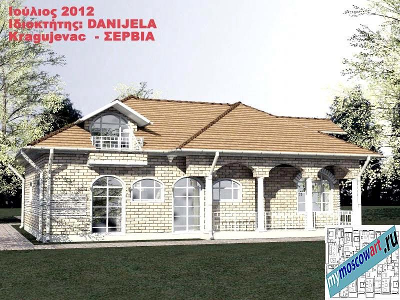 Проект дома - Даниела (Деревня Поповац - Сербия) (8)