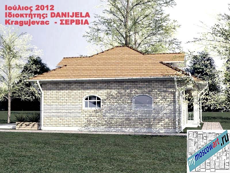 Проект дома - Даниела (Деревня Поповац - Сербия) (9)