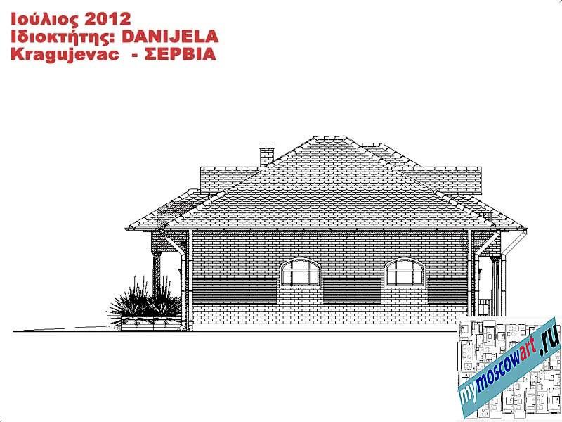 Проект дома - Даниела (Деревня Поповац - Сербия) (12)