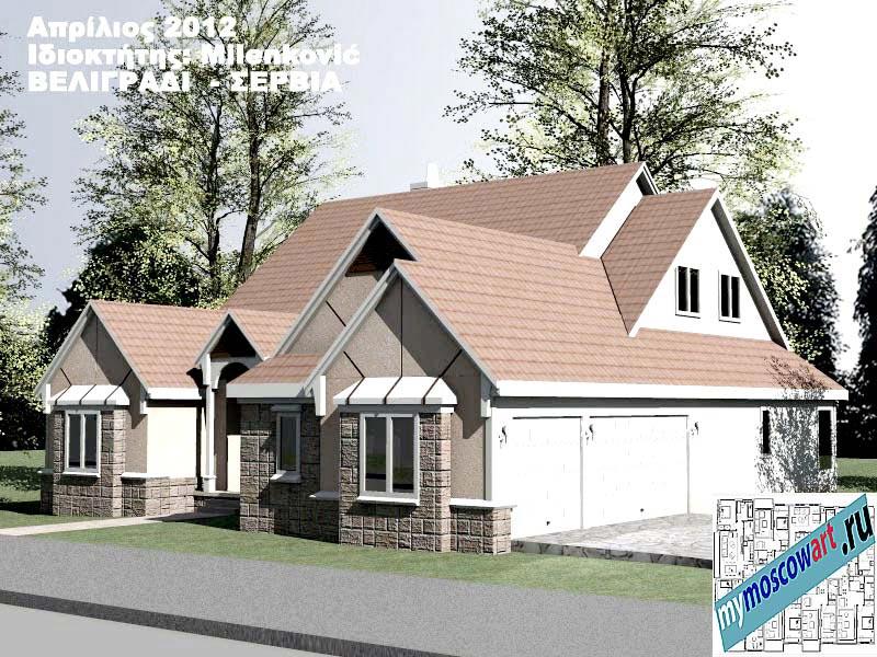 Проект дома - Миленкович (Город Белград - Сербия) (3)