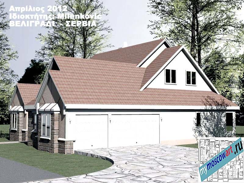 Проект дома - Миленкович (Город Белград - Сербия) (4)