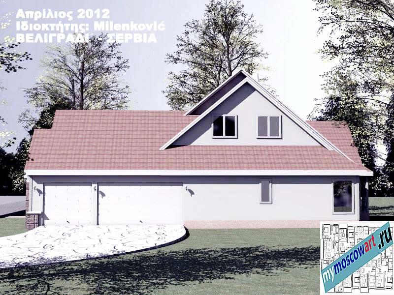 Проект дома - Миленкович (Город Белград - Сербия) (5)